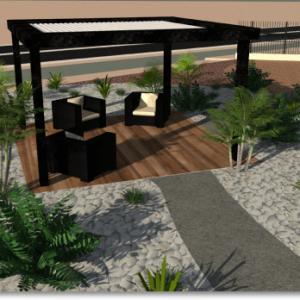 Sud Paysage Service - Création d'un showroom extérieur professionnel