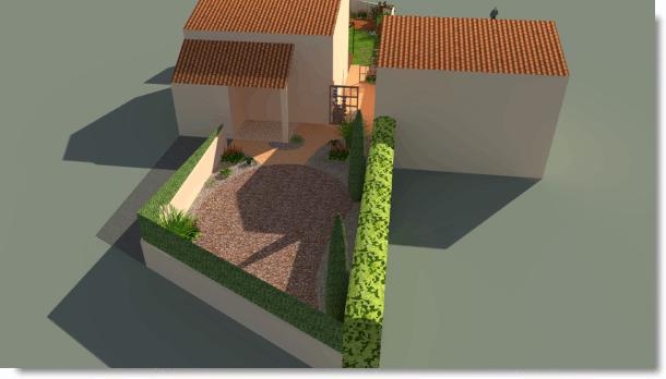 Sud Paysage Service - Réaménagement d'un jardin - Bureau d'études