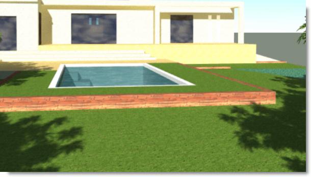 Sud Paysage Service - Création contour de piscine et création de jardin