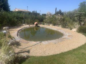Création d'un bassin aquatique